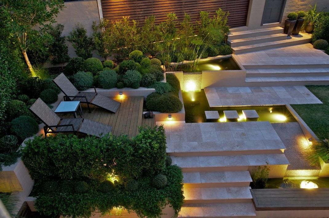Садовое освещение 9