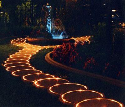Садовое освещение 14
