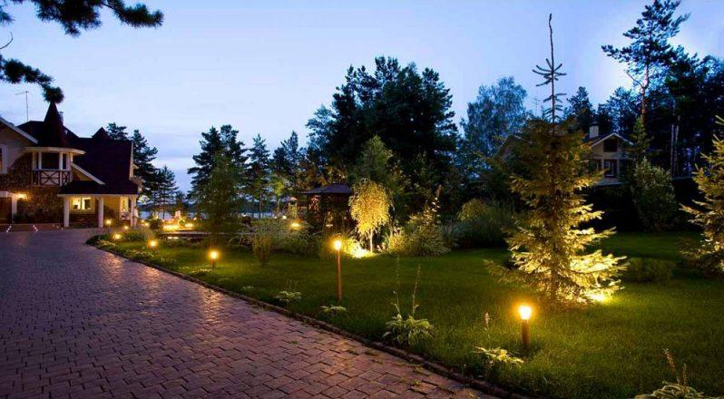 Садовое освещение 4
