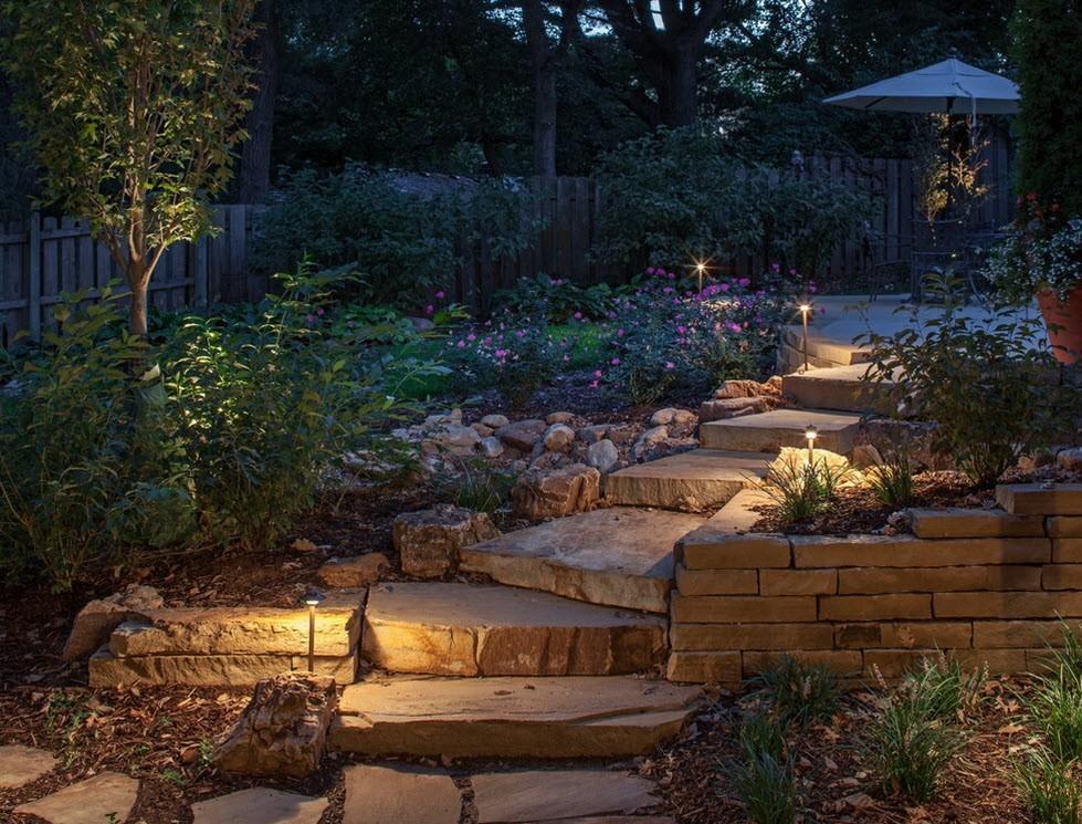 Садовое освещение 5